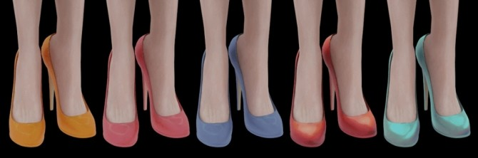HIGH EVENING SHOES at Magic bot image 15217 670x222 Sims 4 Updates
