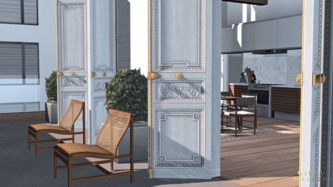 The Ecceentric Art apartment at Milja Maison image 15218 670x377 Sims 4 Updates