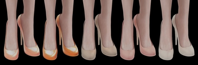 HIGH EVENING SHOES at Magic bot image 15315 670x222 Sims 4 Updates
