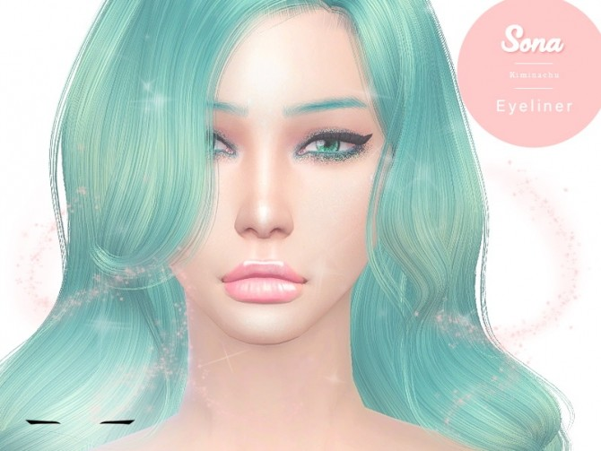 Sona Eyeliner at Kiminachu CC image 1534 670x503 Sims 4 Updates