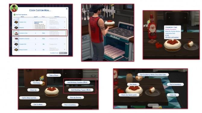 CRANBERRY CAKE at Icemunmun image 15413 670x377 Sims 4 Updates