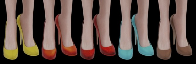 HIGH EVENING SHOES at Magic bot image 15414 670x221 Sims 4 Updates