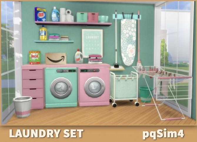 Laundry Set at pqSims4 image 1559 670x484 Sims 4 Updates