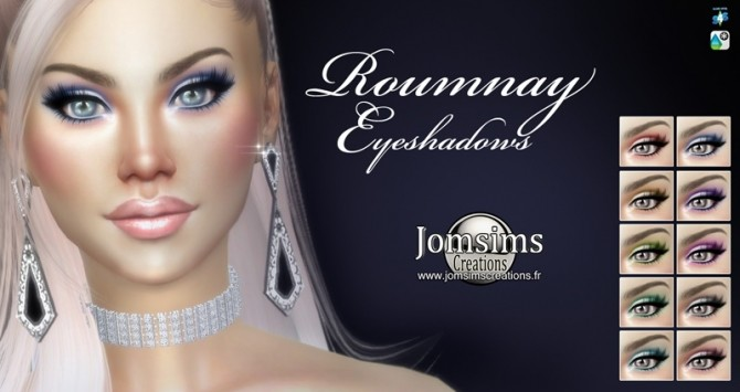 Roumnay eyeshadows at Jomsims Creations image 15613 670x355 Sims 4 Updates