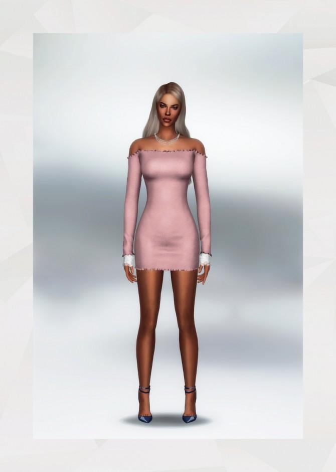 Sims 4 Raymond Dress at Gorilla