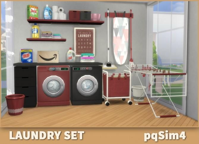 Laundry Set at pqSims4 image 1569 670x484 Sims 4 Updates