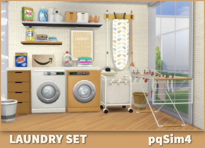 Laundry Set at pqSims4 image 1579 670x484 Sims 4 Updates