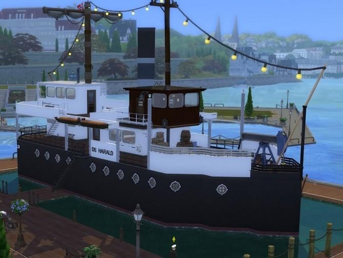 DS Harald Hurtigruten ship at KyriaT's Sims 4 World image 15813 670x503 Sims 4 Updates