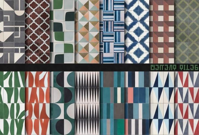 Cement Tiles at Alexpilgrim image 1588 670x456 Sims 4 Updates