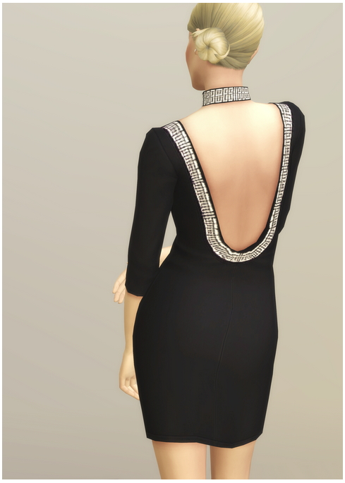 Little Black Dress at Rusty Nail image 15912 Sims 4 Updates
