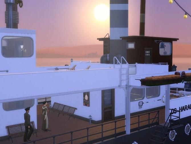DS Harald Hurtigruten ship at KyriaT's Sims 4 World image 15914 670x503 Sims 4 Updates