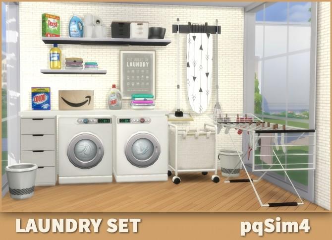 Laundry Set at pqSims4 image 1599 670x484 Sims 4 Updates