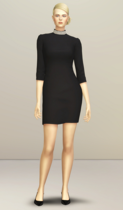 Little Black Dress at Rusty Nail image 16012 Sims 4 Updates