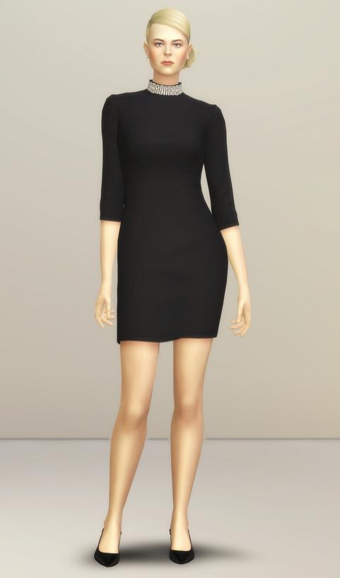 Sims 4 Little Black Dress at Rusty Nail