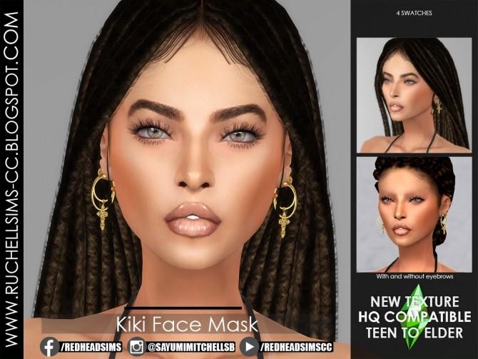 Sims 4 Kiki Face Mask at Ruchell Sims