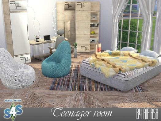 Sims 4 Source room at Aifirsa