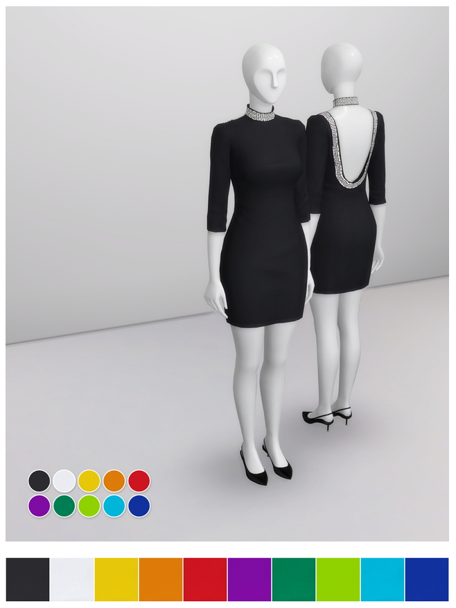 Little Black Dress at Rusty Nail image 16214 Sims 4 Updates