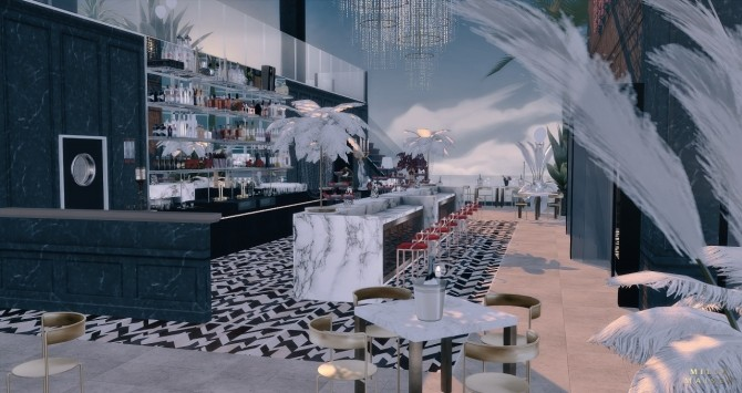 The Great Gatsby Nightclub at Milja Maison image 16312 670x355 Sims 4 Updates