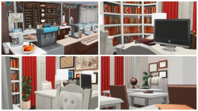 Sims 4 Private Primary School at Anna Frost