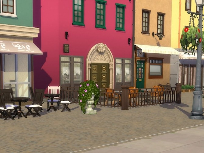 Sims 4 Stures Patisserie at Stortorget at KyriaT's Sims 4 World
