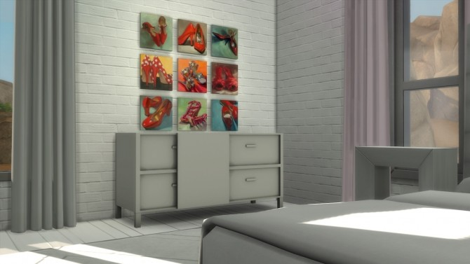 Frozen Moments paintings + frames at b5Studio image 1747 670x377 Sims 4 Updates