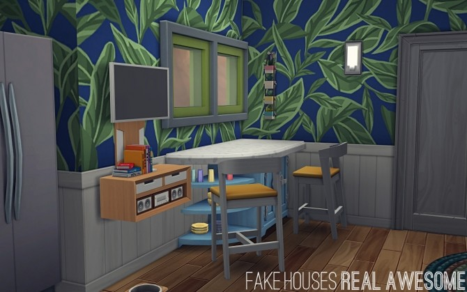 Sims 4 The Marinos Tiny Home by FakeHouses|RealAwesome at Mod The Sims