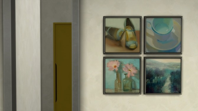 Frozen Moments paintings + frames at b5Studio image 1767 670x377 Sims 4 Updates