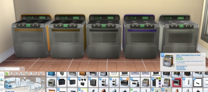 Sims 4 Schmapple Oven with Experimental Food by aldavor at Mod The Sims