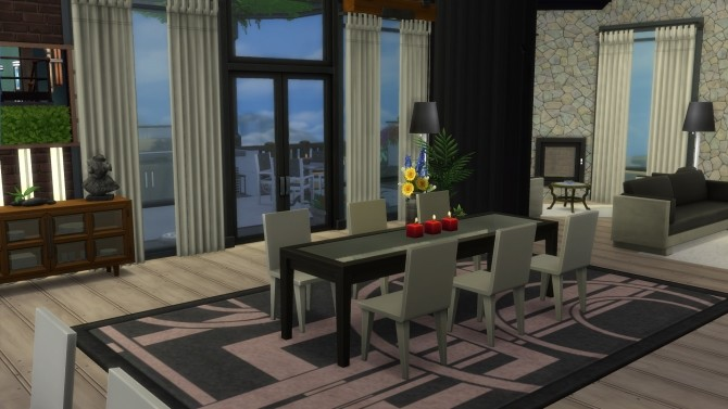 Twin patio by Falco at L'UniverSims image 1784 670x377 Sims 4 Updates
