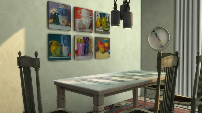 Frozen Moments paintings + frames at b5Studio image 1786 670x377 Sims 4 Updates