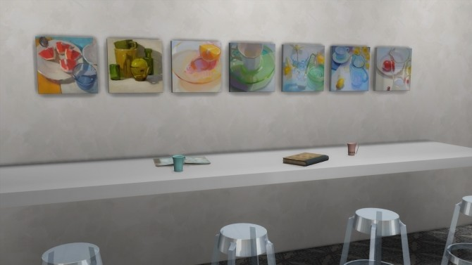 Frozen Moments paintings + frames at b5Studio image 1796 670x377 Sims 4 Updates