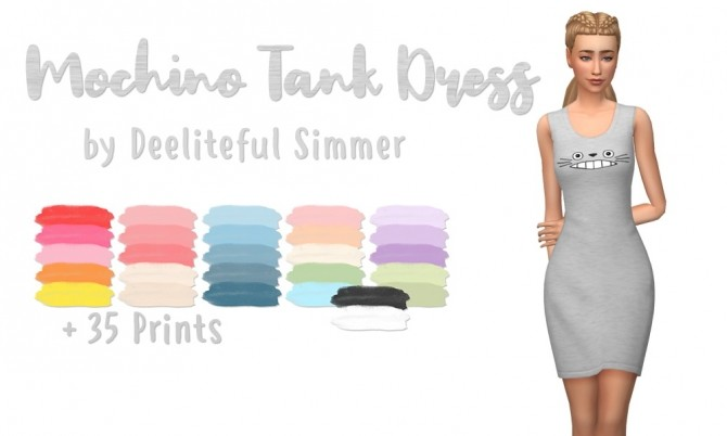 Tank dress at Deeliteful Simmer image 180 670x402 Sims 4 Updates