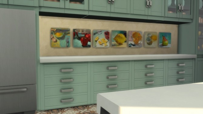 Sims 4 Frozen Moments paintings + frames at b5Studio