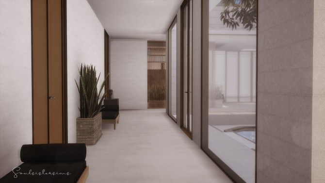 118 | MINIMALIST ASIAN HOME at SoulSisterSims image 18214 670x377 Sims 4 Updates