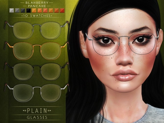 Plain Glasses + kids ver. at Blahberry Pancake image 18311 670x503 Sims 4 Updates