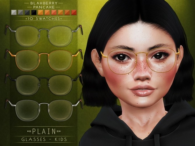 Plain Glasses + kids ver. at Blahberry Pancake image 18411 670x503 Sims 4 Updates