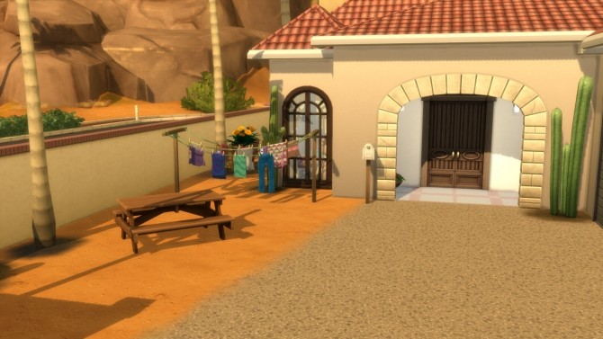Sims 4 SPANISH CASA at MODELSIMS4