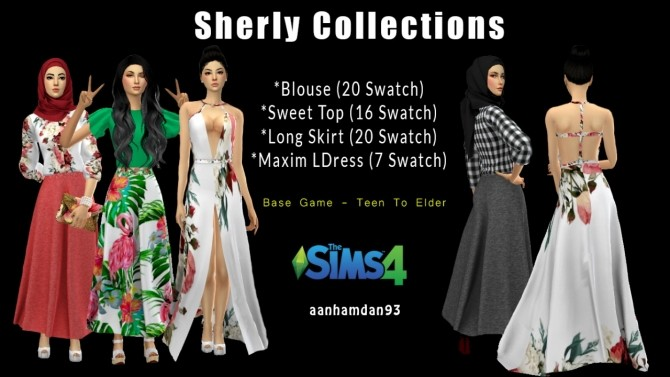 Sherly Collections at Aan Hamdan Simmer93 image 1879 670x377 Sims 4 Updates