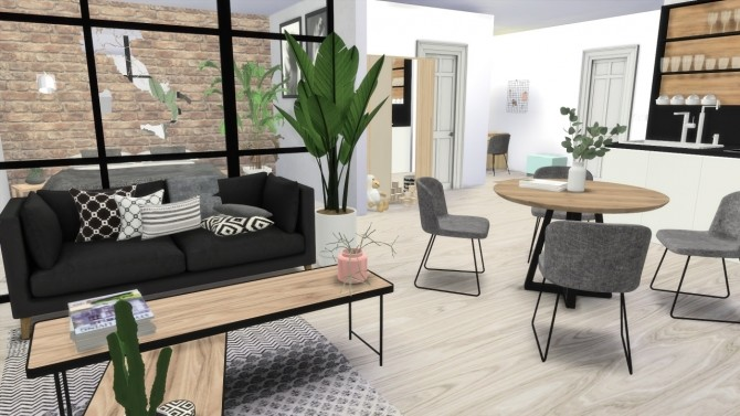 FOREVERDESIGNS STUDIO APPARTMENT at MODELSIMS4 image 1884 670x377 Sims 4 Updates