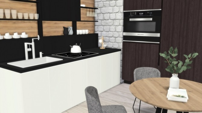 Sims 4 FOREVERDESIGNS STUDIO APPARTMENT at MODELSIMS4