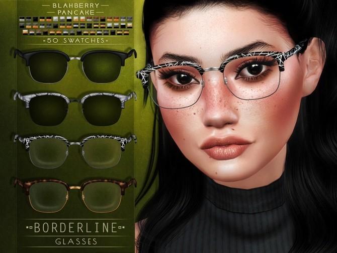 Borderline Glasses at Blahberry Pancake image 1897 670x503 Sims 4 Updates