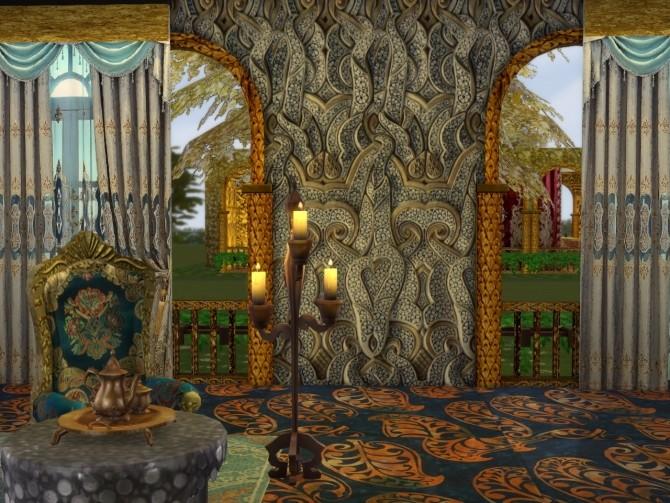 More Golden Walls at Anna Quinn Stories image 1908 670x503 Sims 4 Updates