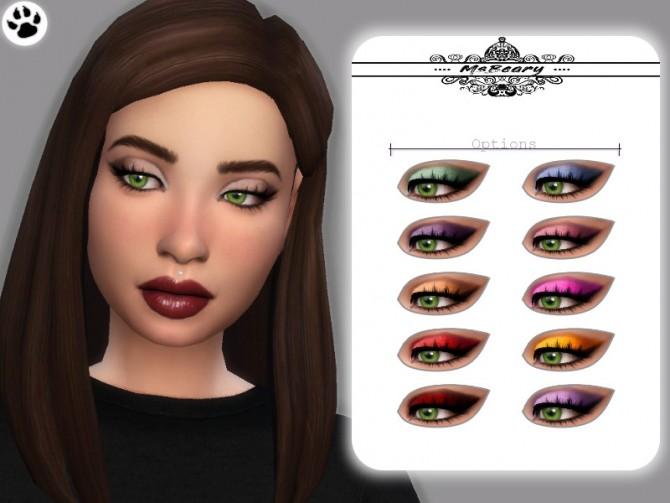 Sims 4 Drama Eyeshadow by MsBeary at TSR