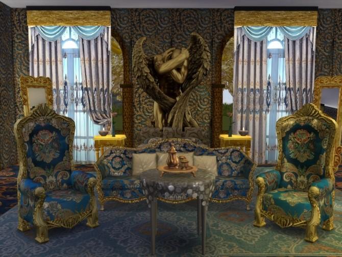 More Golden Walls at Anna Quinn Stories image 19212 670x503 Sims 4 Updates