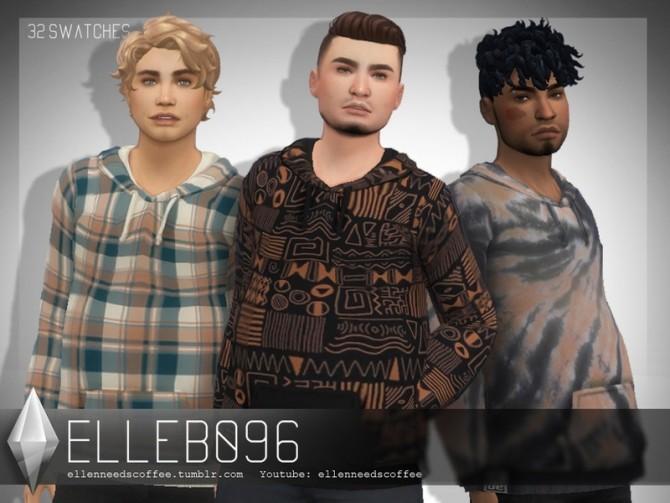 Sims 4 Harvey Hoodie by Elleb096 at TSR