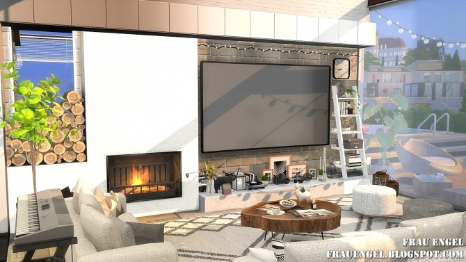 Lets Stay Home at Frau Engel image 19310 670x377 Sims 4 Updates