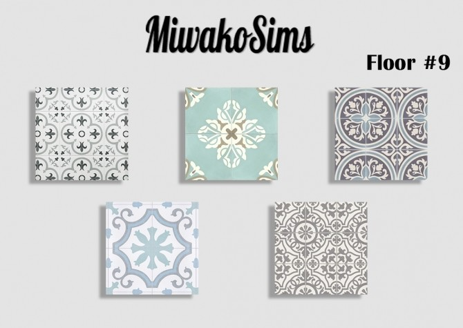 Sims 4 Collection floor #9 at MiwakoSims