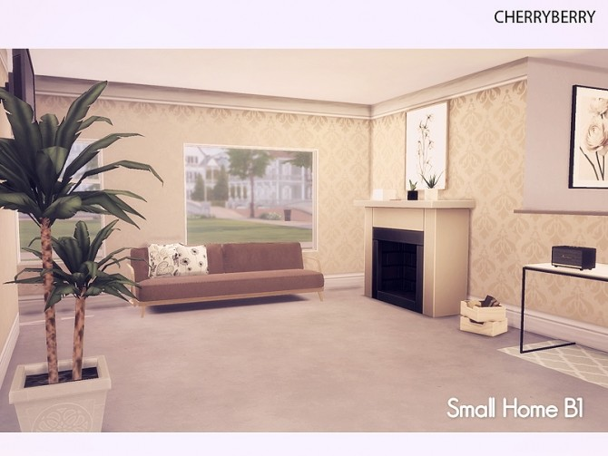 Sims 4 Small Home B1 at Cherryberry