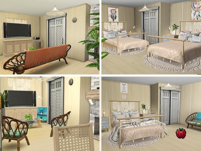 Sims 4 Amity spa hotel by melapples at TSR