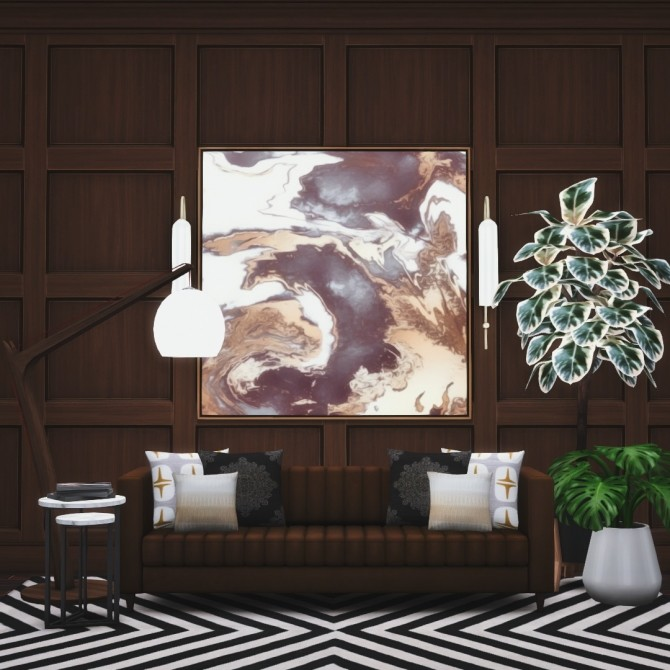 Shaker Panelling Simple Style in Natural & Painted Finishes at Simsational Designs image 2008 670x670 Sims 4 Updates